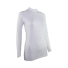 SP Body - Women's High Neck Crystal Logo [White]
