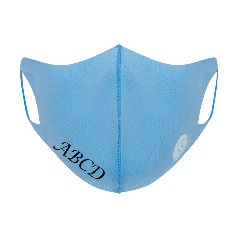 CUSTOM Face Masks (Light Blue)