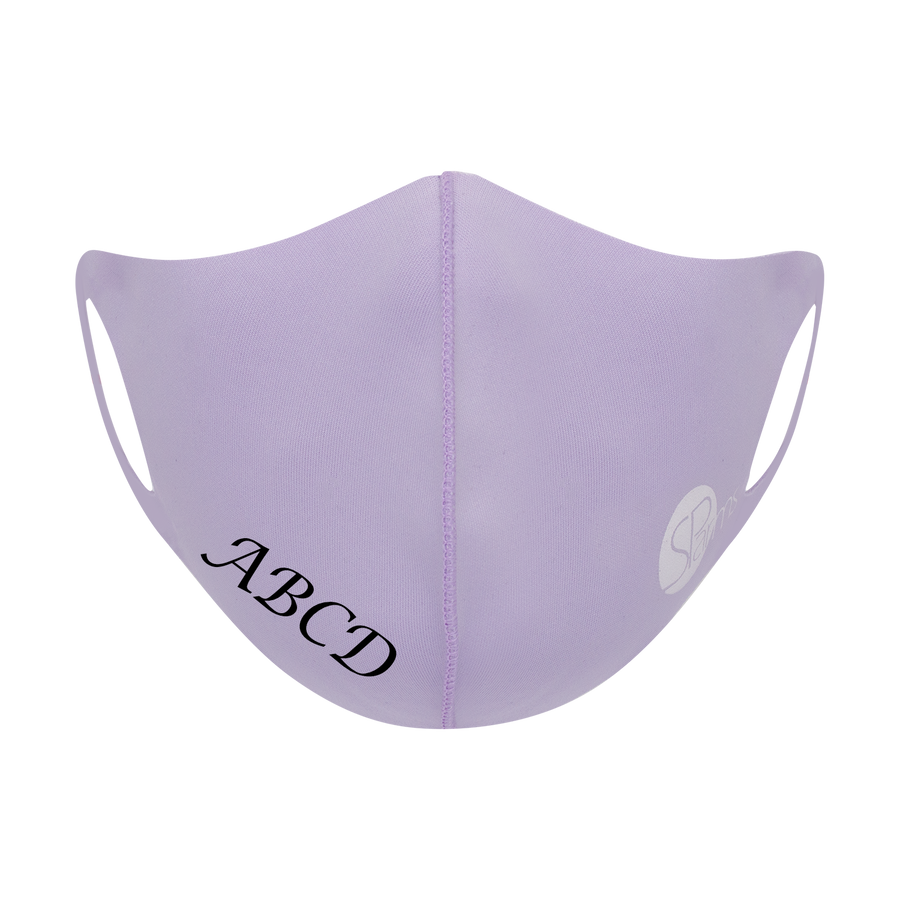 CUSTOM Face Masks (Violet)