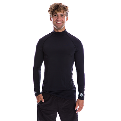 SP Body - Men's High Neck [Black] - SParms