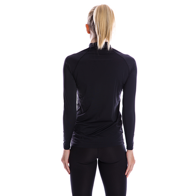 SP Body - Women's High Neck [Black] - SParms