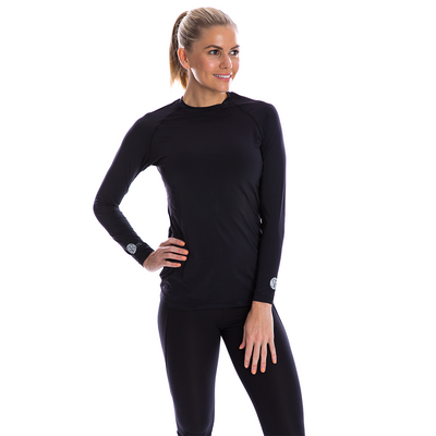 SP Body - Women's Round Neck [Black] - SParms