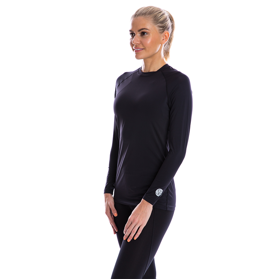 SP Body - Women's Round Neck [Black]