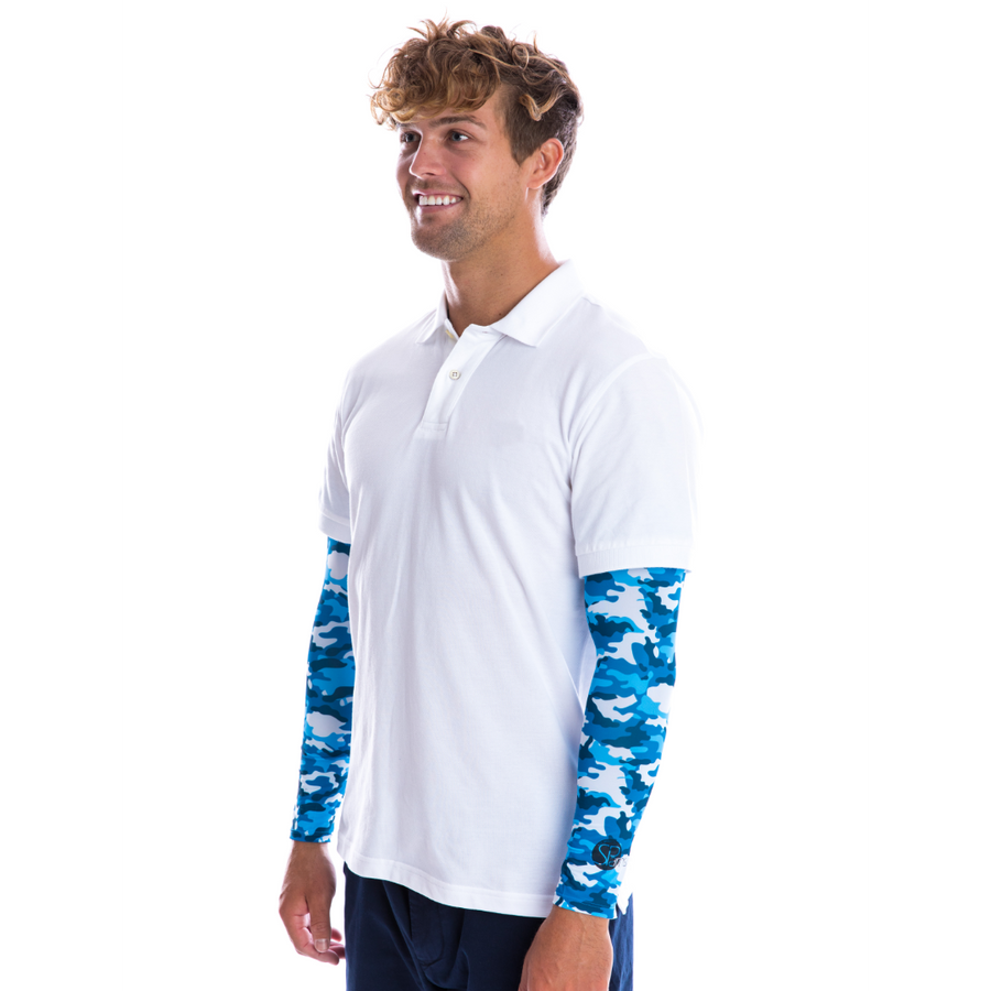 SP Arms  - Sun Sleeves [Camo Blue] - SParms