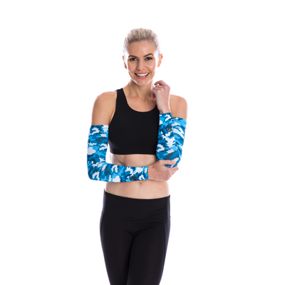 SP Arms  - Sun Sleeves [Camo Blue]