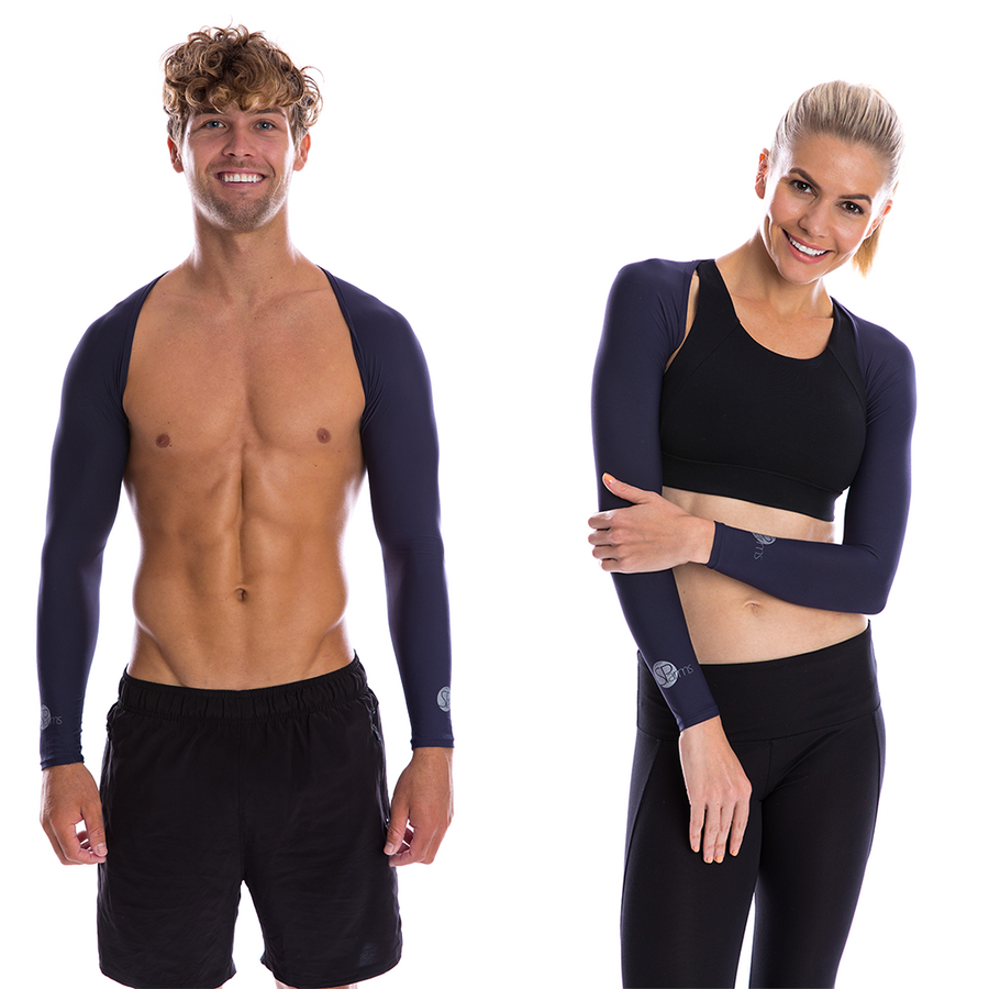 SP Arms - Shoulder Wrap (UV sleeves) [Navy]