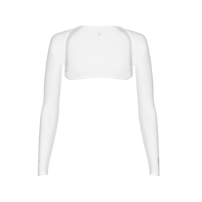SP Arms - Shoulder Wrap [White] GREY LOGO - SParms