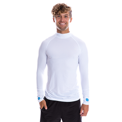 SP Body - Men's High Neck [White] - SParms