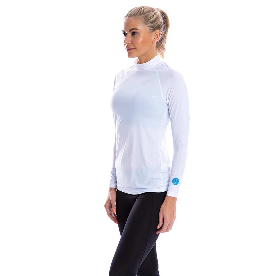 SP Body - Women's High Neck [White]