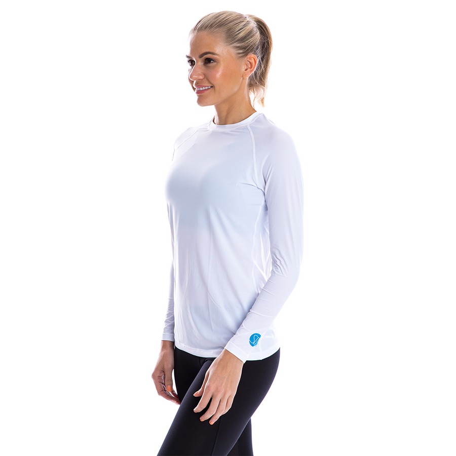 SP Body - Women's Round Neck [White] - SParms