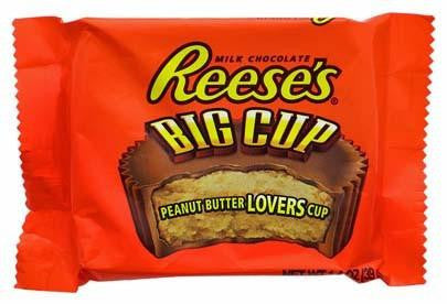 Reese's Big Cup Singles 39g X 16 Bars - Remas