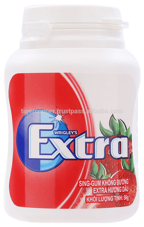 Extra Strawberry Bottle 64g x 6 Bottles.