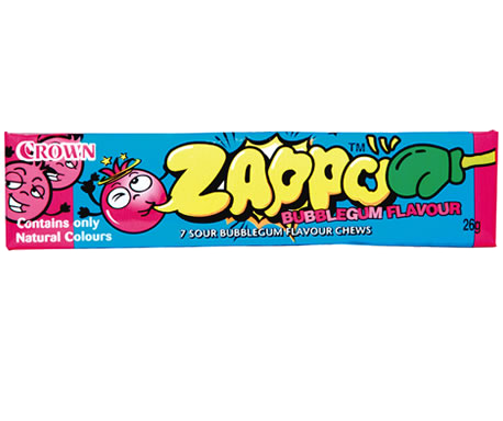 Zappo 7 Bubble Gum Chews 26g X 60 Units