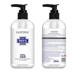 Gotdya 75% Alcohol Hand Sanitizer 300ml X 1 Unit - Remas