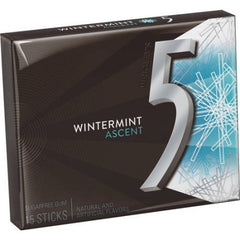 5 Gum Ascent Wintermint 10 x 15 Sticks