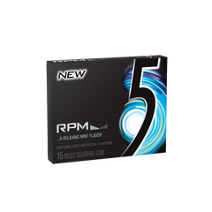 5 Gum RPM Mint 10 X 15 Sticks - Remas