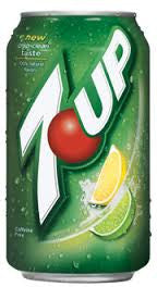 7 Up Lemon Lime 355ml X 12 Cans