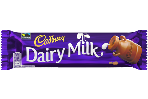 Cadbury Dairy Milk 50g X 48 Bars
