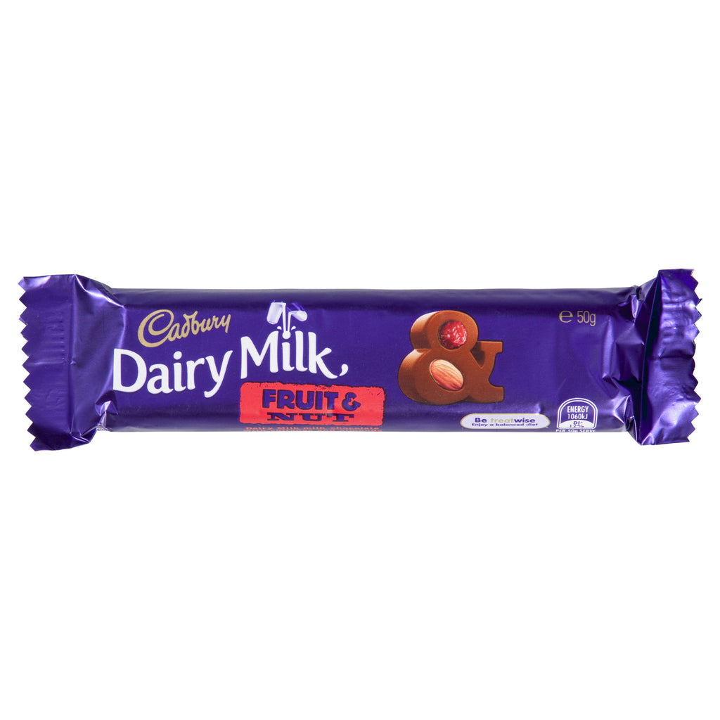 Cadbury Fruit & Nut 50g X 42 Bars