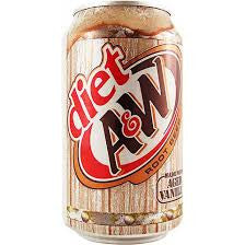 A&W Root Beer Diet 355ml X 12 Cans