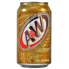 A&W Creme & Soda 355ml X 12 Cans