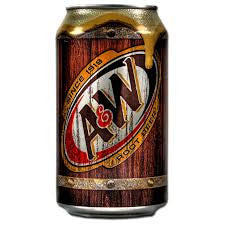 A&W Root Beer 355ml X 12 Cans - Remas