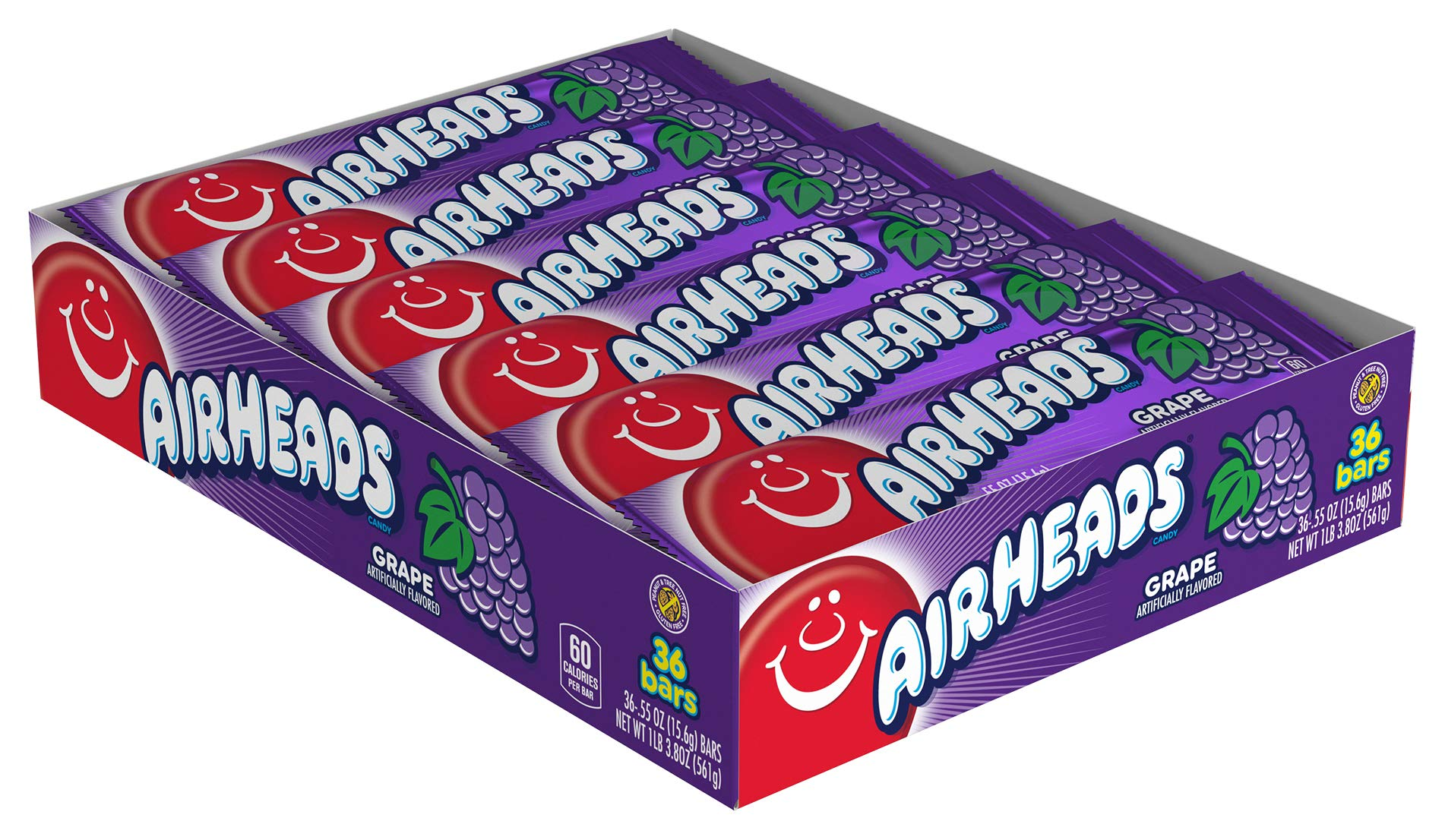 Airheads Grape 15.6G X 36 Units