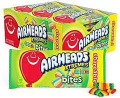 Airheads Xtremes Sourfuls Rainbow Berry 56g X 18 Units