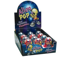 Alien Ring Pop 15g x 12 Units