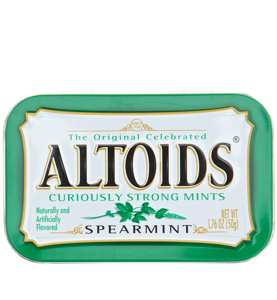 Altoids curiously strong mints spearmint
