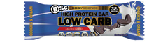 BSC  Cookie & Cream Protein 60g X 12 Bars - Remas