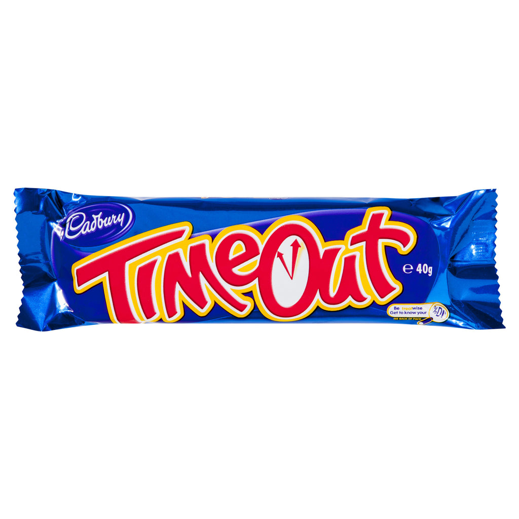 Cadbury Time Out 40g X 40 Bars