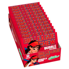 Big League Chew Strawberry 60g X 12 bags