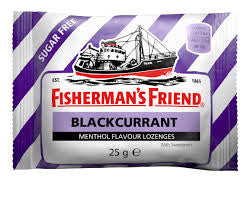 Fisherman's Blackcurrant Menthol 25g X 12 Units