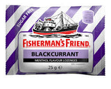 Fisherman's Blackcurrant Menthol 25g X 12 Units - Remas
