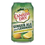 Canada Dry Ginger Ale and Lemonade 355ml x 12 cans