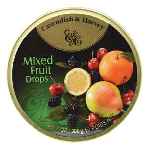 Cavendish Harvey Mixed Fruit Drops 200g x 10 unit