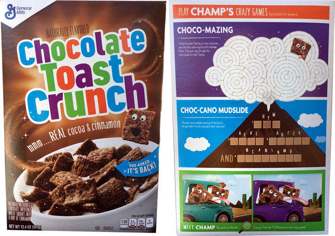Cereal Chocolate Toast Crunch 351g X 1 Box - Remas