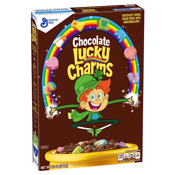 Cereal LUCKY CHARMS Chocolate - Remas