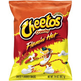 US CHIPS Cheetos Flamin' Hot Crunchy 99.2g X 24 Bags - Remas