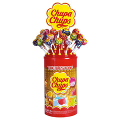 Aus Chupa Chups Lollipop 100 Pcs x 1 Tub - Remas