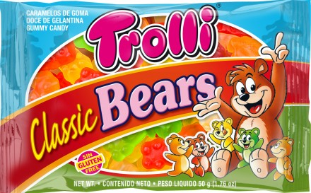TROLLI SOUR GLOWWORMS 45G X 12 UNITS