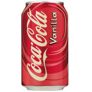 Coca Cola Vanilla 355ml X 12 Cans