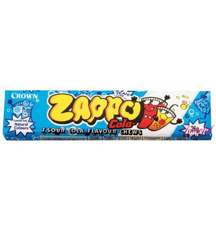 Zappo 7 Sour Cola Chews 26g X 60 Units