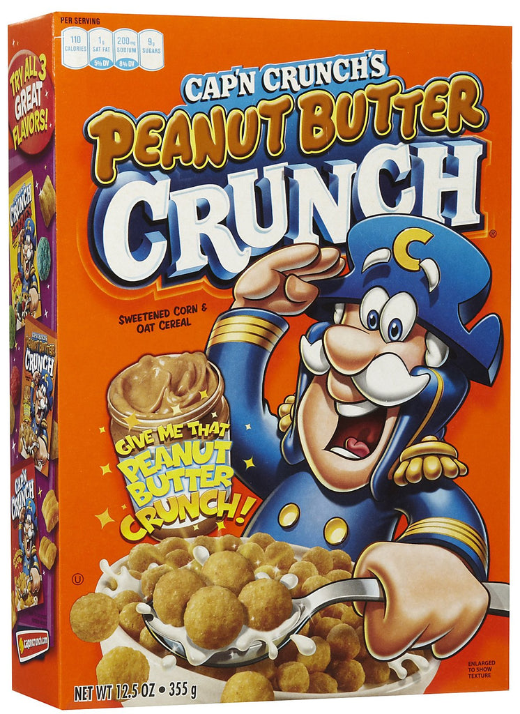 Cereal Cap'n Crunch PeaNut Butter 355g X 1 Box