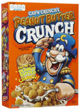 Cereal Cap'n Crunch PeaNut Butter 355g X 1 Box - Remas