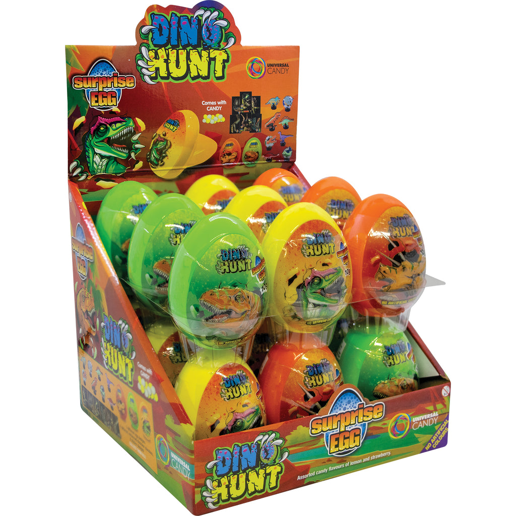 Dino Hunt Surprise Eggs 10g X 18 Eggs