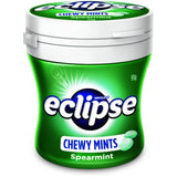 Eclipse Chewy Mints SpearMint 93g X 6 Bottles - Remas