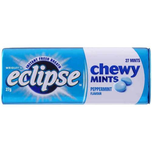 Eclipse Chewy Peppermint Mints 27g X 20 Units