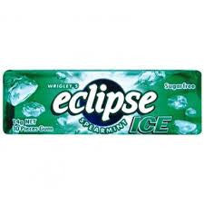 Eclipse Green Spearmint Ice Gum 14g X 30 Sticks